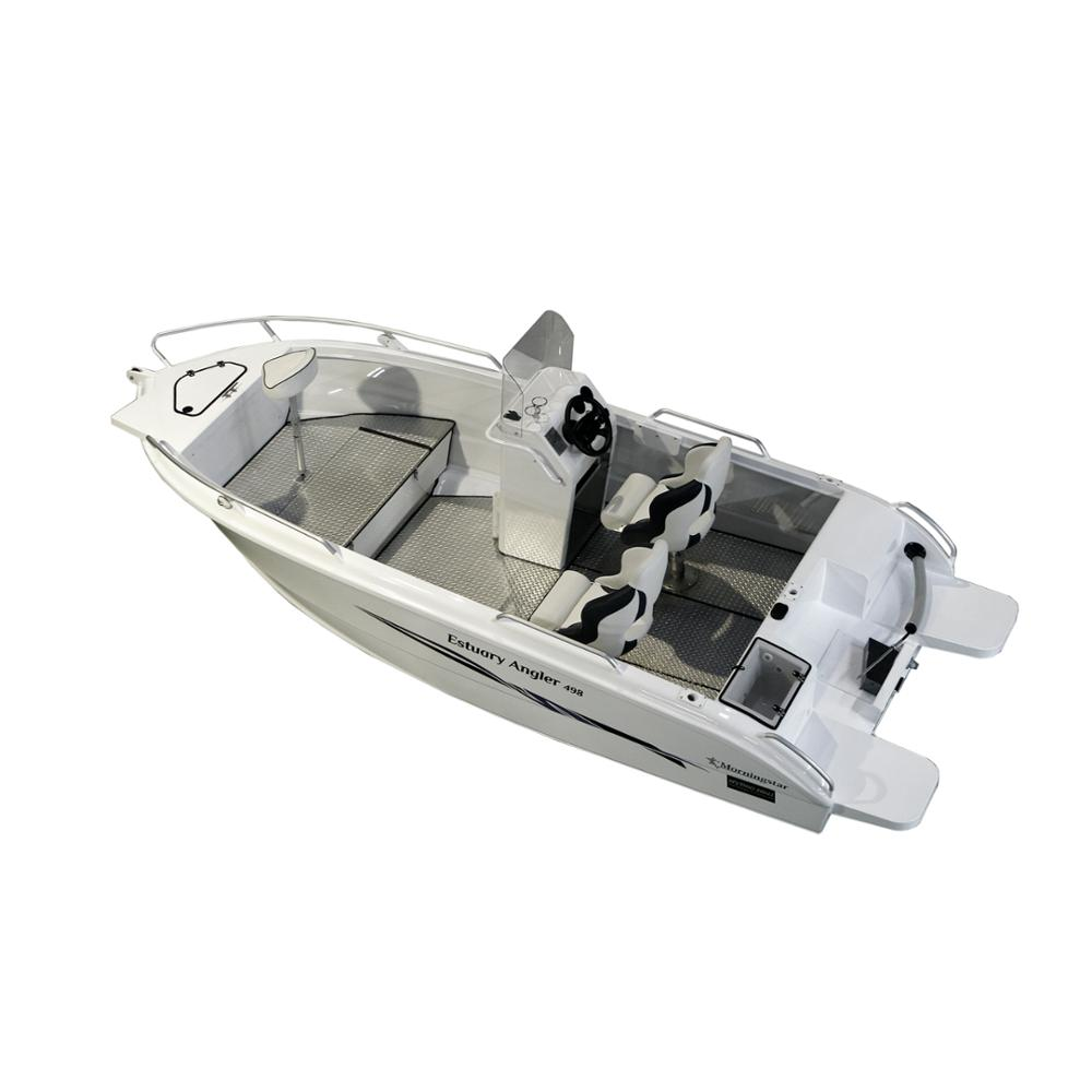 2018 16ft Aluminium Fishing <strong>Boat</strong> with CE, Side Console