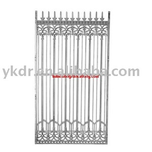Wholesale china factory lowes aluminum fence products exported to dubai