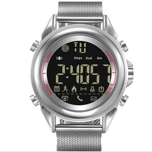 Smart Watch IP67 Waterproof stainless steel Strap Men Long Standby Time 12 Months Sport Smartwatch For iOS and Android
