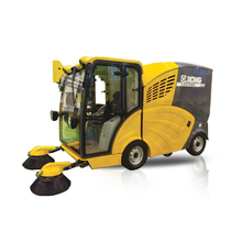 Yellow Electric Sweeper SJDS1000A Purely-Electric Road Sweeping Machine