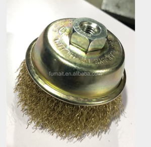 FMT Customized Industrial brushes brass wire cup brush
