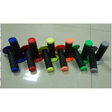 Dirt/Racing bike Soft Rubber Handle Bar/protaper pillow top grips, PRO top grips in half waffle OEM quality