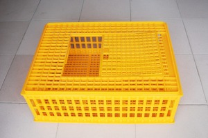 Broiler chicken plastic transport /transfer cages for sale