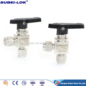 Angle Type Instrument Stainless Steel Ball Valve in China