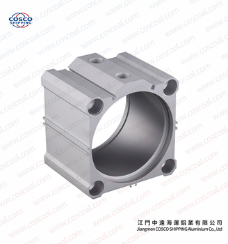Aluminum Pneumatic Cylinder Tube Compact Cylinder Tube Made In China