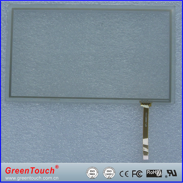 GreenTouch 4 wire Resistive Touch Screen 4:3 Cheap 5.7 inch LCD Monitor