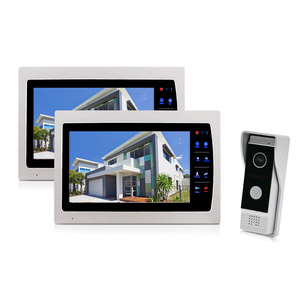 7 Inch Doorbell System Compatible With Commax Intercom Door Phone 4 Wire Intercom Video