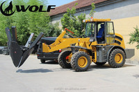 1m3 bucket loader, 2.0 ton loading capacity, modern construction equipments ZL20