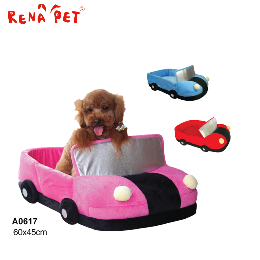 Hot-selling dog cushion pet bed dog car shape bed