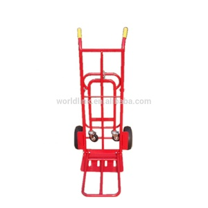 Heavy Duty Warehouse Transport Steel Hand Cart