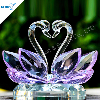 Colorful Swans Crystal Return Gifts For Wedding Souvenir & Colorful Swans Crystal Return Gifts For Wedding Souvenir - Buy ...