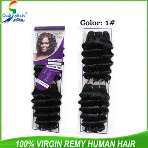 "Wholesale cheap price synthetic hair weaves for black women bug color ISIS DEEP WAVE 8""2PCS"