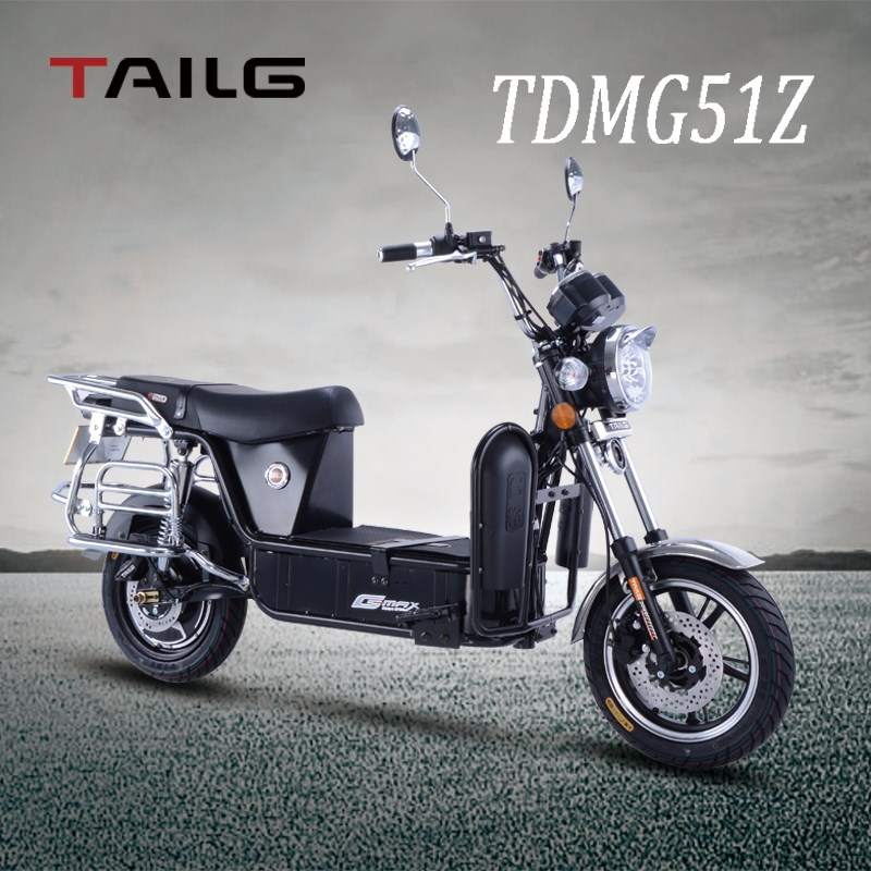 tailg small smart electric scooter black knight