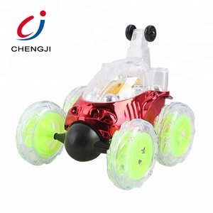 Newest 4 channel toy 360 rolling flips remote control stunt cars with light