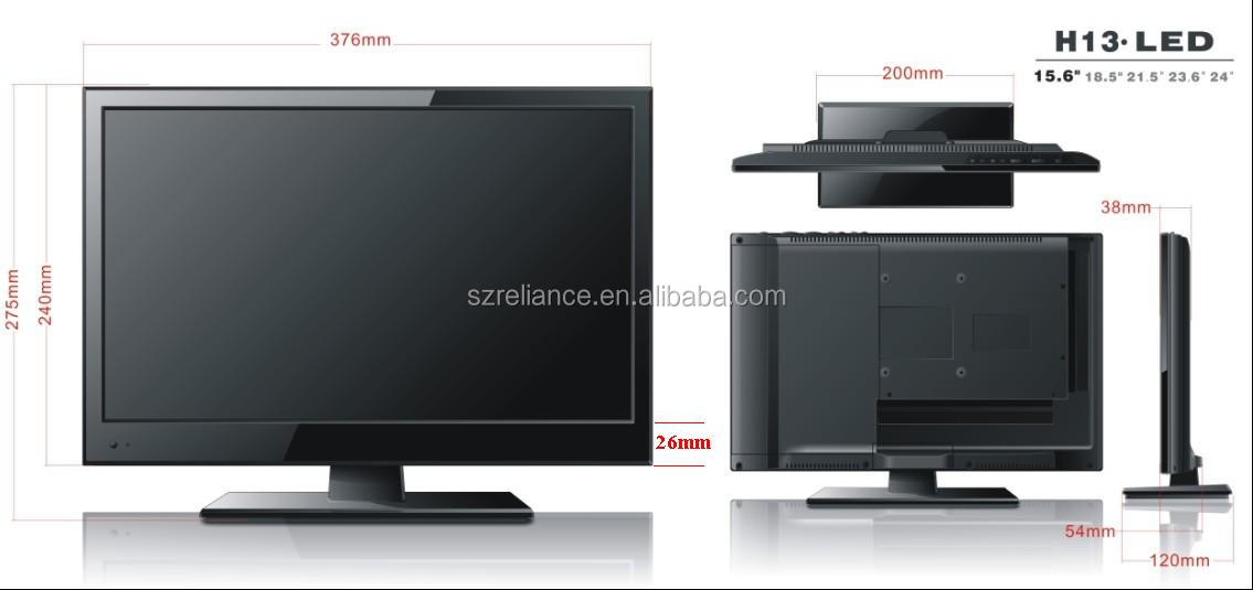 high quality with cheap price 17 inch flat screen advertising tv