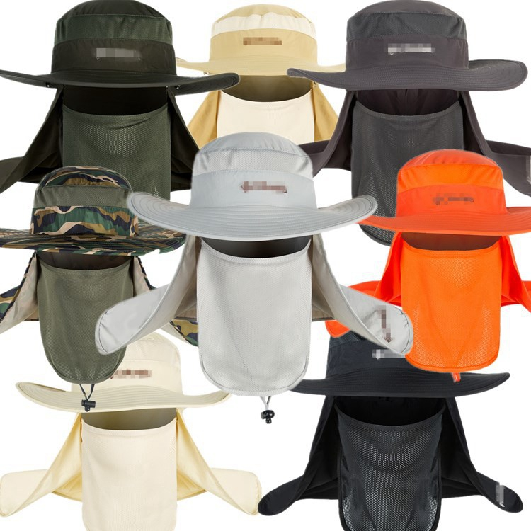 Hot Sale Camping Outdoor Sun Potection Cap Hat For Travel
