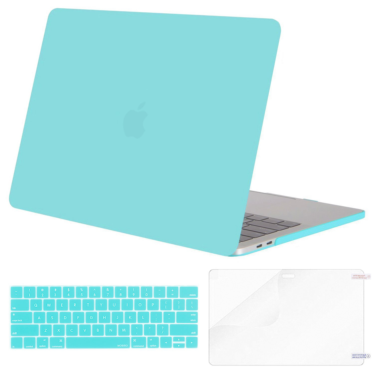 Keyboard Skin Cover Hard Shell Case for Apple MacBook New Pro 13 Inch with/Without Touch Bar A1706, A1708, A1989