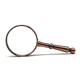 factory inventory antique brass plating handheld book pocket magnifier manufacturer