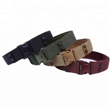 5.5cm Custom Belt Buckle Nylon Canvas Belts Military Tactical belt