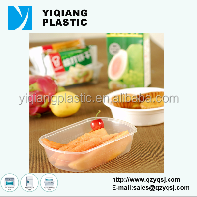 popular disposable plastic food tray packing