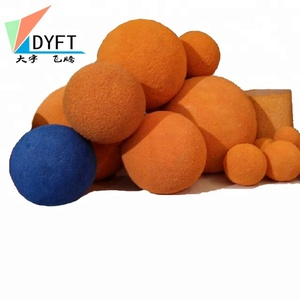 Concrete pump cleaning ball concrete pump pipe spare parts