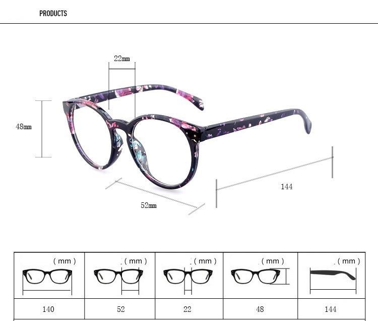 8f2b3c0ce2af 2019 Wholesale 2015 New Eyeglasses Women Round Frame Optical Myopia ...