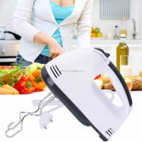 7 Speeds Hand Blender 150W White Egg Beaters Electric Mixer EU Plug Kitchen Supplier