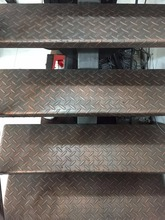 water-proof iron stair steps