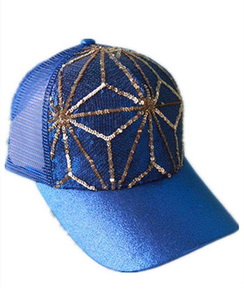 38c37f6ca67 QINGYUAN Lady s summer outdoor sports visor cap Women Baseball cap Peaked  cap With sequins Black