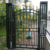 Economical and practical modern latest main wrought iron gate designs