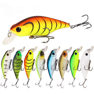 Fishing Lures Cheap 90mm 13g Unpaint Minnow Lure Hard Bait Sinking Bass  Fishing Wobbler Fashion Design FL043