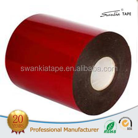 1mm Auto industria uso revestimiento de película de doble cara cinta de espuma PE con rojo Fabricantes de fabricación, proveedores, exportadores, mayoristas