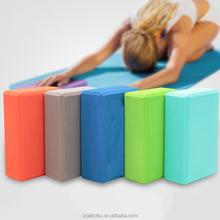 2018 New design high density skidproof pressureproof Thickened EVA foam Yoga block