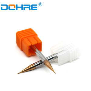 On sales Dohre ZHY CTX micro diameter 2 flutes square AND ball nose end mills