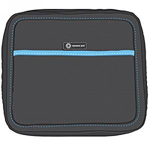 Squeeze Pod Toiletry Travel Bag - 2 Bags in 1: Heavy Duty Toiletry Case + Removable Clear Quart Size Bag-TSA Approved. Compact Size for Carry-On Bag. Built to Survive Tough Travel. (PAPBKBL)