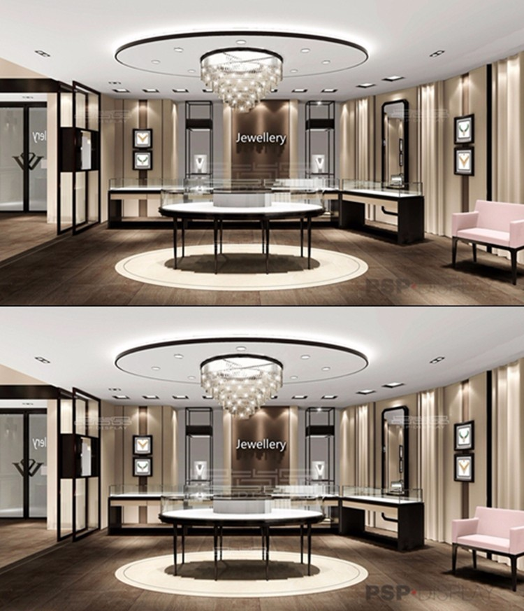 2017 New Jewellery Showroom Store Furniture Interior Design Ideas