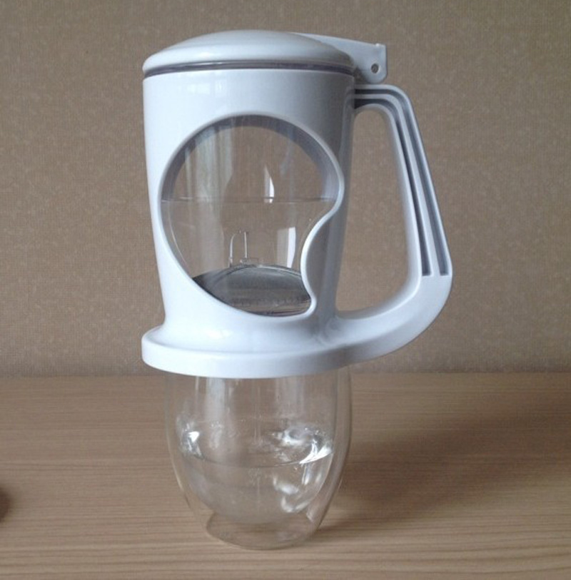 Perfect Magic Handy Tea Making Pot Glass Tea Maker Bottom Dispensing Tea Filter Pot