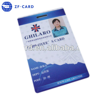 Customized Pvc Chinese Office Id Card Design For Free