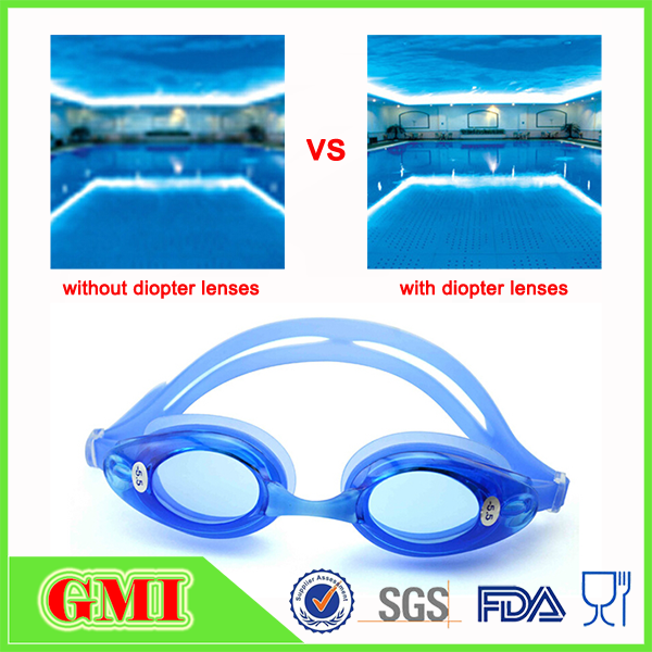 Funny waterproof swimming goggles for kids