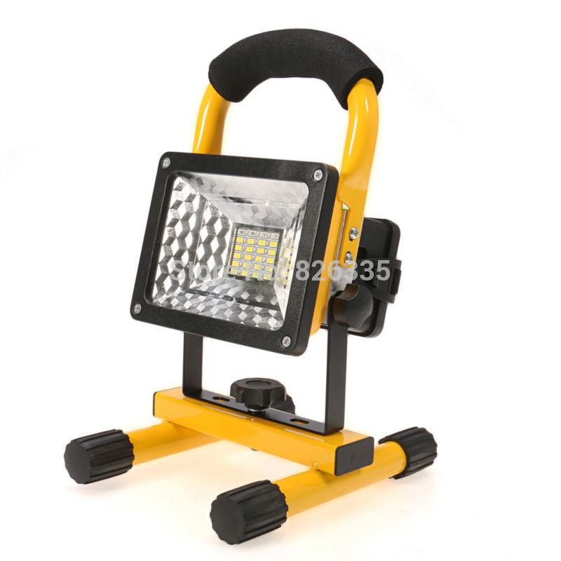 Outdoor Flood Light Portable: Portable Led Flood Light IP65 Spotlight Street Outdoor