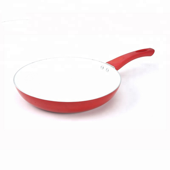 Top premium enamel coating fry pan nonstick cookware pan