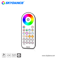 Skydance R22 4 Groups LED controller RGB RGBW RF Wireless remote Touch wheel RF Remote Controller for LED