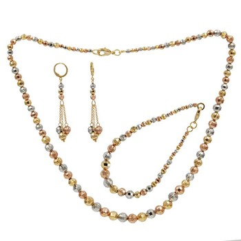 Fashion Gold African Beads Jewelry Sets Wholesale Beads Bridal
