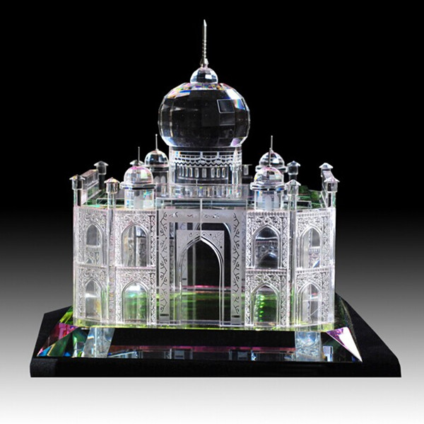 Middle east islamic style crystal building model