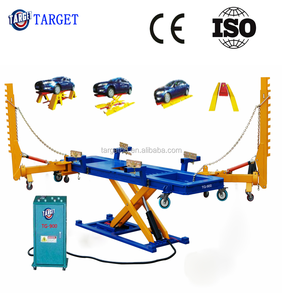 Auto o liner mini quick auto body repair frame machine/Mini auto chassis stijltang