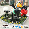 OAC0010 Playground life size park cartoon animal sculpture