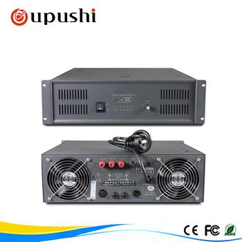 2 Channel Hi-end Amplifier Oupushi Professional Power Amplifiers 1500 Watt  - Buy Power Amplifiers,Power Amplifiers 1500 Watt,Performance Amplifier