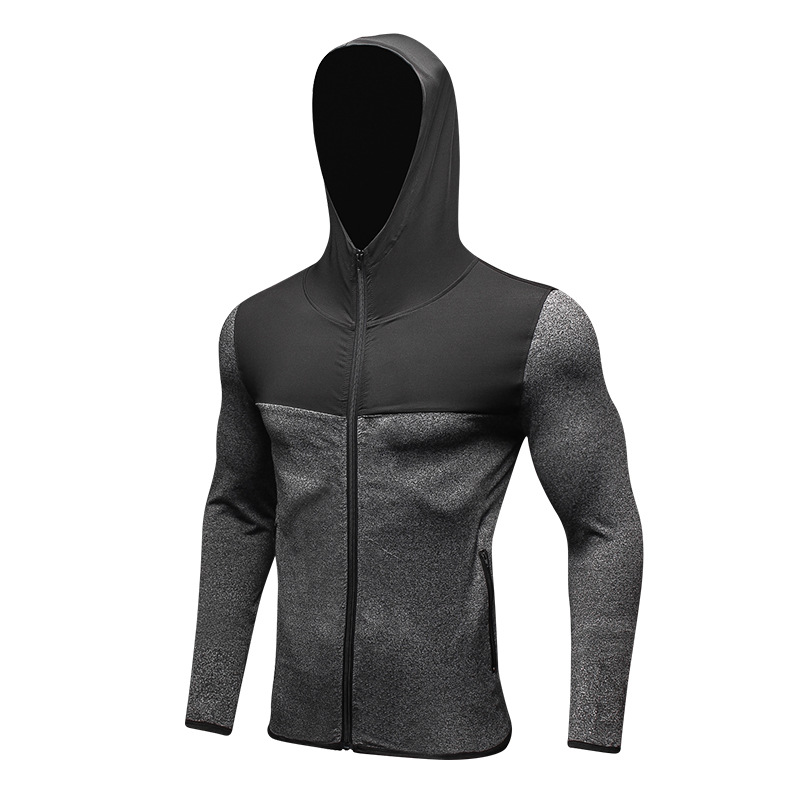 Back To Search Resultssports & Entertainment Men Hot Sweat Jacket Hoody Running Jacket Jogging Sports Sportswear Fitness Exercise Gym Hooded Clothes Long Sleeve Plus Size Commodities Are Available Without Restriction