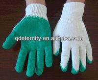 Latex coated safety glove,coated glove,please find Helen (Client first, reputation first)