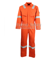 [Super Deal]Nomex IIIA Flame Resistant Safety Men's Coverall